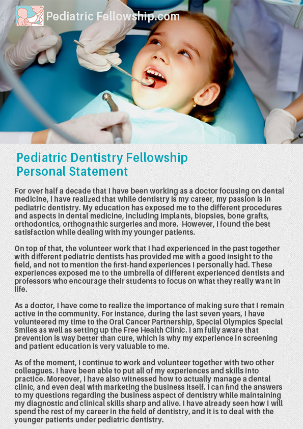 pediatric endocrinology fellowship personal statement Our reproductive endocrinology and infertility fellowship trains experts in the   photo personal statement letter of reference from the chair or the director of.