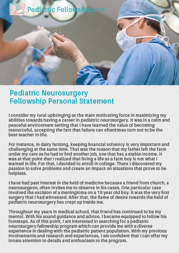 Find a Pediatric Neurosurgery Fellowship Here