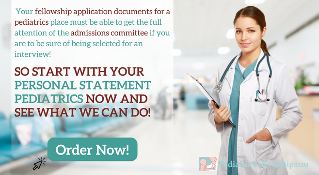 pediatrics personal statement writing service